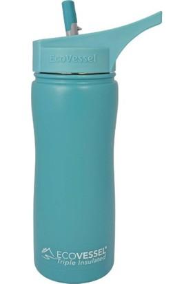 Eco Vessel Summit - Insulated Steel Straw Bottle 0,50 Lt Termos
