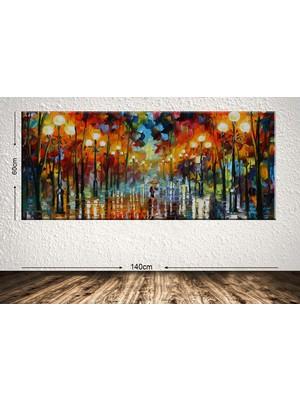Hepsi Home Dev Boyut Dekoratif Kanvas Tablo - 62 x 135cm