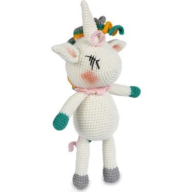 Amigurumi Unicorn-Pegasus Bebek Oyuncak   24 cm   375x375