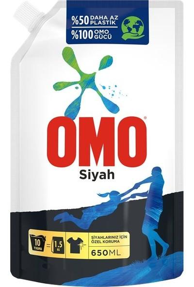 Omo Black Siyahlar için Sıvı Deterjan Çevre Dostu Paket 650 ML