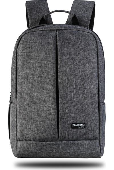 """Classone Z Serisi 15.6"""" Notebook Sırt Çantası - Gri"""