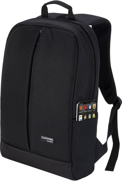 CLASSONEBP-Z200Serisi 15.6 N.B Sırt Çantası-Siyah