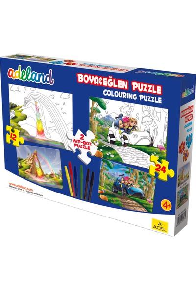Adeland Boya & Eğlen, 12 Ve 24 Parça, Puzzle 1