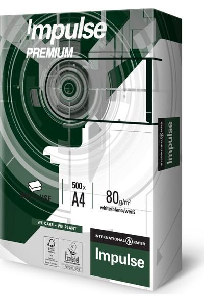 İmpulse A4 Fotokopi Kağıt 80 gr 5'li kutu (2500 adet)