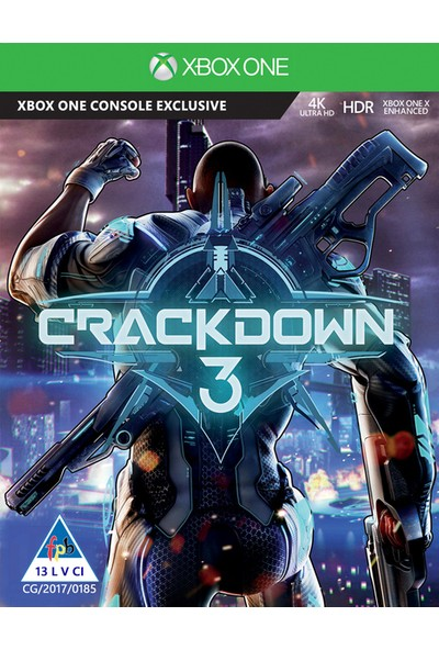 Microsoft Xbox One Crackdown3-X1