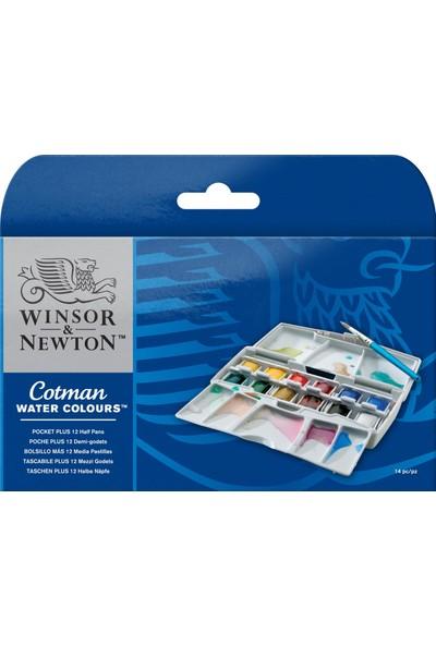 Winsor & Newton Cotman Sulu Boya Plus Cep Tipi Set