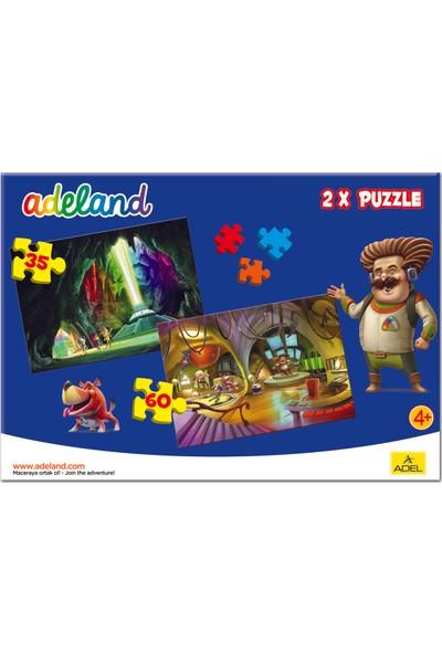 Adeland 2X1 Puzzle 1, 35 Ve 60 Parça