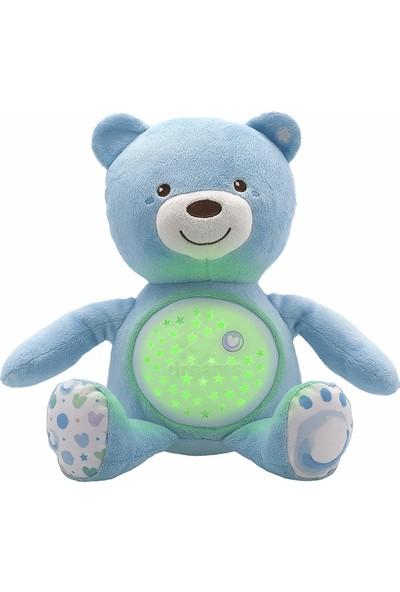 Chicco Bebek Ayıcık Işıklı ve Sesli Mavi