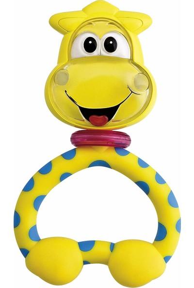 Chicco Eğlenceli Diş Kaşıma Çıngırağı-Zürafa