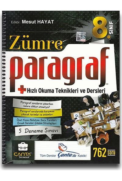 Çanta 8. Sınıf Zümre Paragraf Hızlı Okuma Teknikleri ve Dersleri