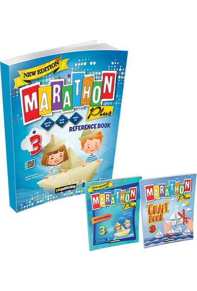 Yds 3. Sınıf Marathon Plus Reference Book + Activity Book + Craft Book