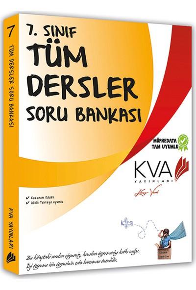 Koray Varol Akademi KVA 7. Sınıf Tüm Dersler Soru Bankası