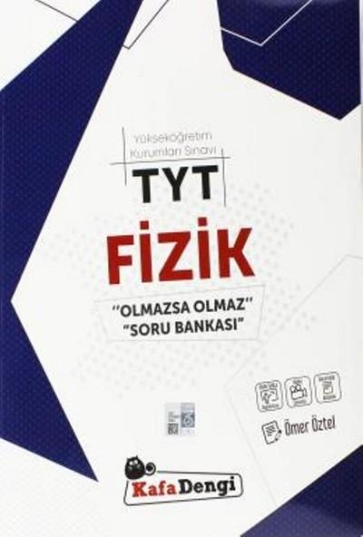 Kafa Dengi Yayınları TYT Fizik Olmazsa Olmaz Soru Bankası Video Çözümlü