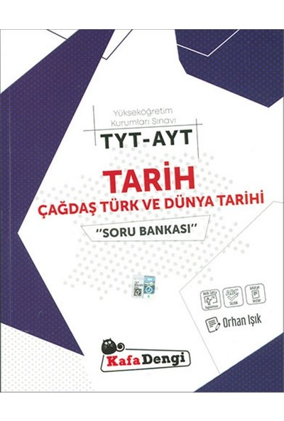 Kafa Dengi Yayınları TYT AYT Tarih Çağdaş Türk Ve Dünya Tarihi Soru Bankası