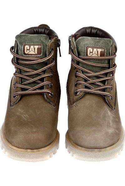 Celal Gültekin Cat 015F1069 Filet Bot31 35 Yeşil Nubuk
