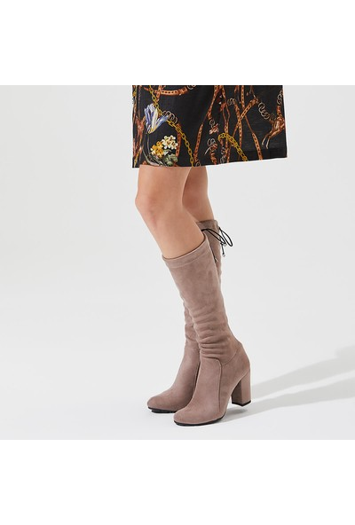Butigo Frenk11Z S Vizon Kadın Dizüstü Stretch Çizme