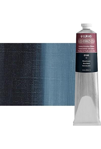 Lukas 1862 Yağli Boya Mavi Siyah 200Ml