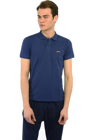 Slazenger Asun Erkek T-Shirt Lacivert