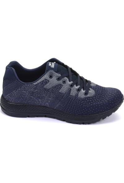 Slazenger Anakın Koşu & Yürüyüş Erkek Ayakkabı Lacivert