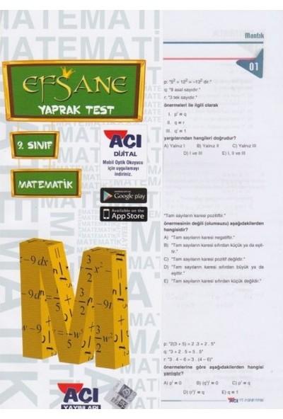 Açı 9 . Sınıf Matematik Çek Kopart Yaprak Test