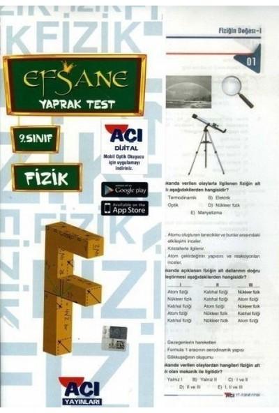 Açı 9. Sınıf Fizik Çek Kopart Yaprak Test