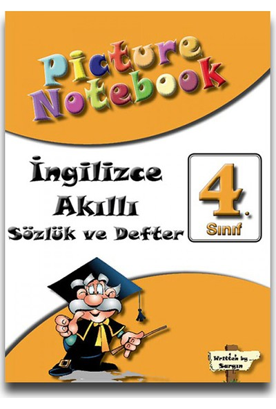 Sargın 4. Sınıf Picture Notebook İngilizce Akıllı Sözlük Ve Defter