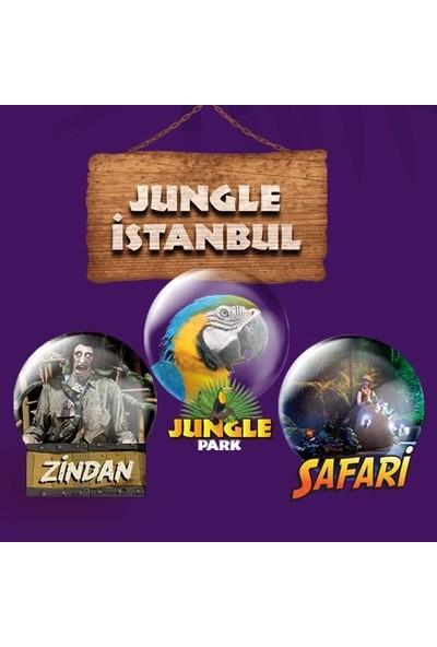 Jungle Park, Zindan, Safari Üçlü Macera Giriş Bileti