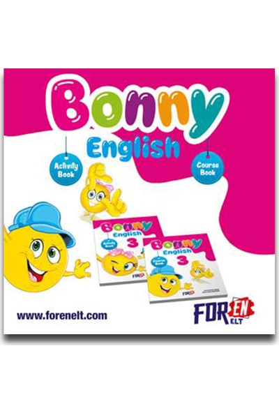 Foren Elt 3. Sınıf Bonny English Course Book + Activity Book