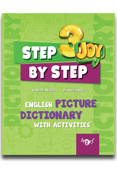 Harf 3. Sınıf Step By Step English Picture Dictionary With Activities