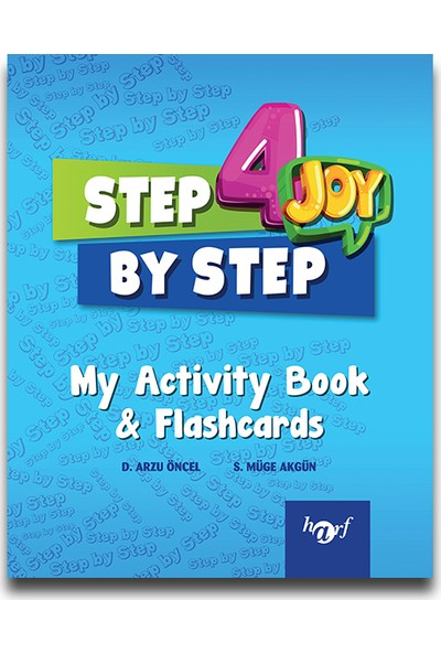 Harf 4. Sınıf Step By Step English My Activity Book & Flashcards