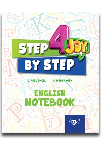 Harf 4. Sınıf Step By Step English Notebook