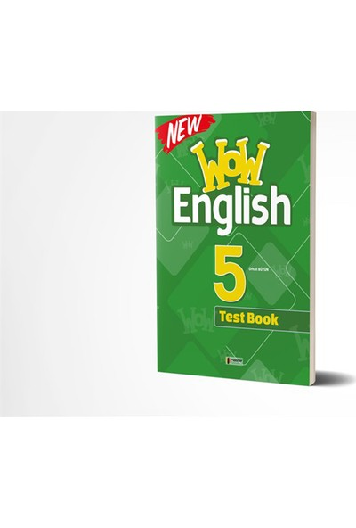 Master 5. Sınıf Wow English Test Book