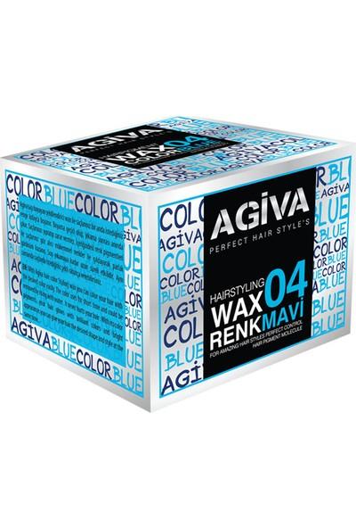 Agiva Hairstyling Wax 04 Mavi - 120 gr