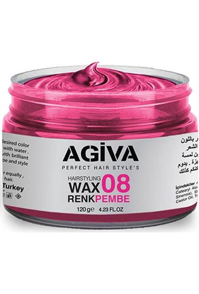 Agiva Hairstyling Wax 08 Pembe- 120 gr