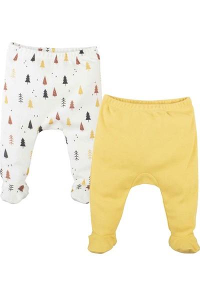 İdil Baby Patikli Bebek Pantolonu 2'li 11149