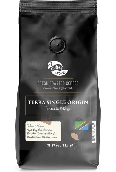 Coffeetropic Terra Single Origin Tanzania Mbeya 1 Kg