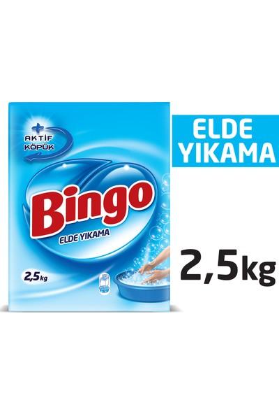 Bingo Elde Yıkama Toz Çamaşır Deterjanı 2,5 Kg