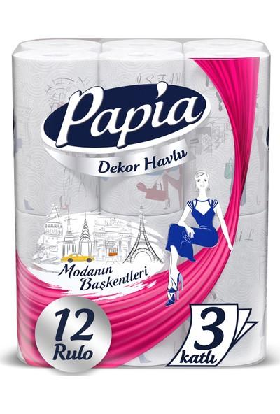 Papia Decor Kağıt Havlu 12'li