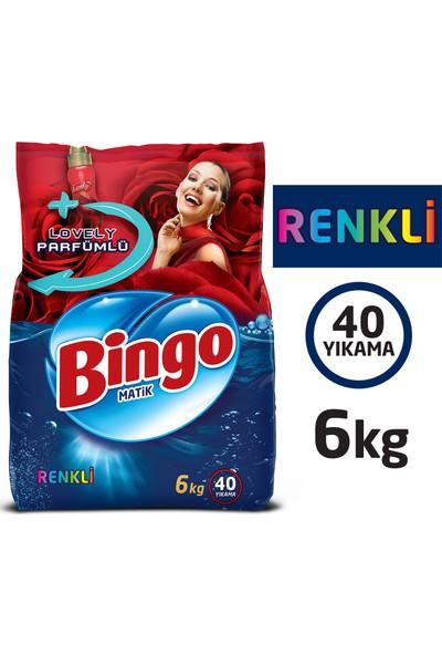 Bingo Renkli Toz Çamaşır Deterjanı 6 Kg