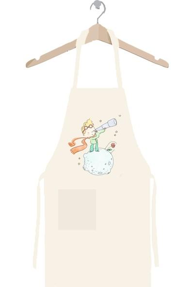 Art T-shirt Küçük Prens Gözlem Mutfak Önlüğü