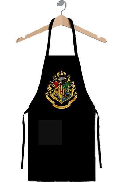 Art T-shirt Harry Potter Hogwarts Mutfak Önlüğü