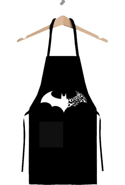 Art T-shirt Batman Mutfak Önlüğü
