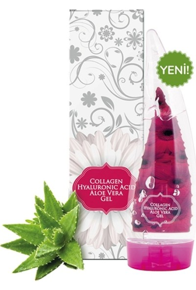 Voonka Collagen Hyaluronic Acid Aloe Vera Gel 250 ml