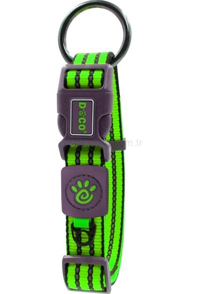 Doco Özel Tasarım Köpek Tasma Yeşil M
