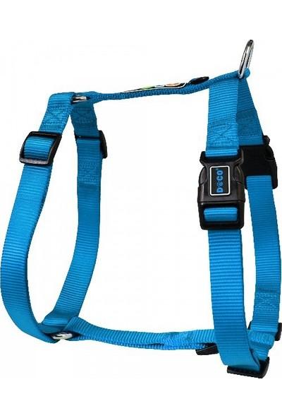 Doco Logolu Koşum Kayışı Small Mavi 1.5 x 40-57cm