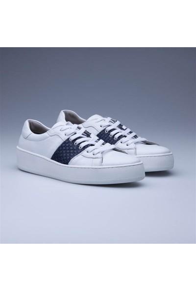 Faruk Sağın White Db Picky Klasik Ayakkabı 31540 Beyaz
