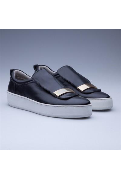 Faruk Sağın Fs Black Klasik Ayakkabı 8K-18Sblink Siyah