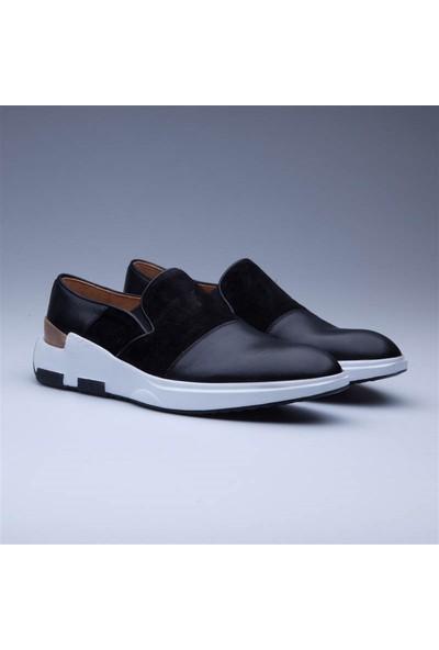 Faruk Sağın Black Glow Klasik Ayakkabı 8K-18Ssh0121 Siyah