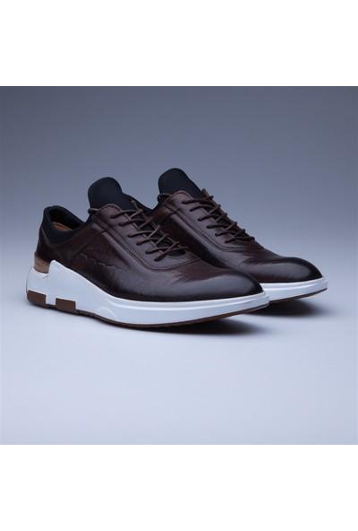 Faruk Sağın Blood Glow Klasik Ayakkabı 8K-18Ssh0122 Bordo