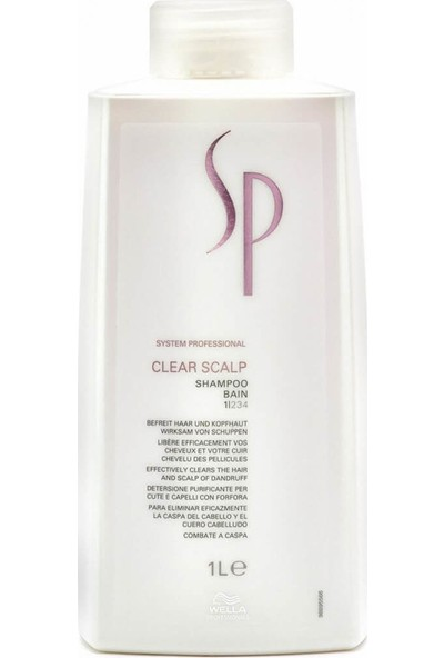 Sp Bayan Şampuan Clear Scalp 1000 ml